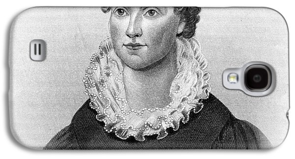 First Lady Galaxy S4 Cases - Hannah Hoes Van Buren Galaxy S4 Case by Granger
