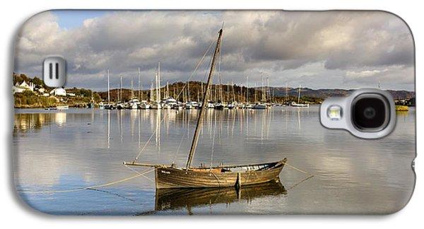 Design Pics - Galaxy S4 Cases - Harbour In Tarbert Scotland, Uk Galaxy S4 Case by John Short