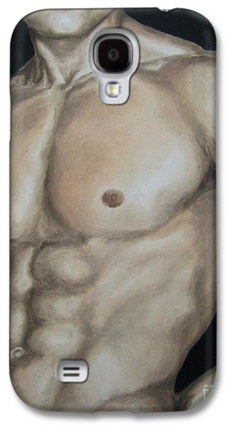 Nudes Paintings Galaxy S4 Cases - Hard Body Galaxy S4 Case by Jindra Noewi