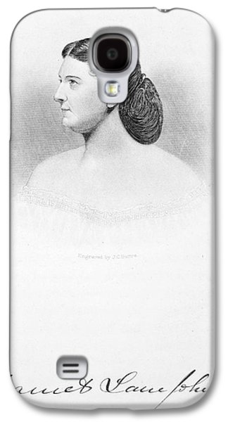First Lady Galaxy S4 Cases - Harriet Lane Johnston Galaxy S4 Case by Granger