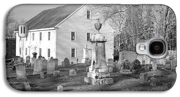 Old Maine Houses Galaxy S4 Cases - Harrington Meetinghouse -Bristol ME USA Galaxy S4 Case by Erin Paul Donovan