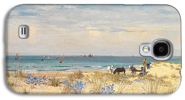 Harvesting The Land And The Sea Galaxy S4 Case by William Lionel Wyllie