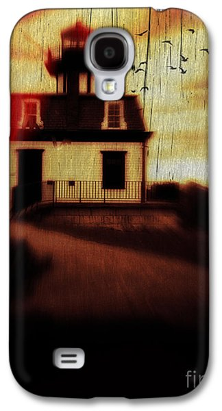 """""""haunted House"""" Galaxy S4 Cases - Haunted Lighthouse Galaxy S4 Case by Edward Fielding"""