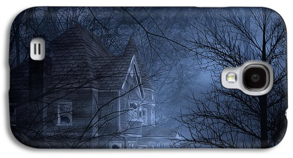 Creepy Galaxy S4 Cases - Haunted Place Galaxy S4 Case by Svetlana Sewell