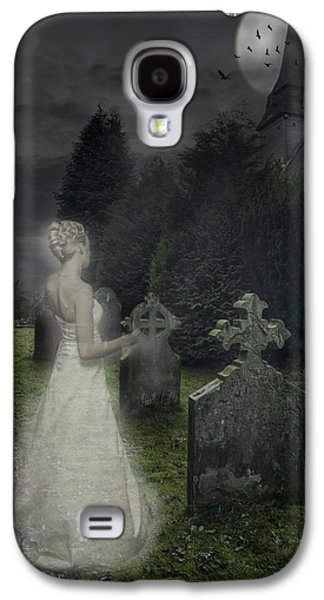 Headstones Galaxy S4 Cases - Haunting Galaxy S4 Case by Amanda And Christopher Elwell