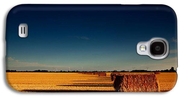 Hay Galaxy S4 Cases - Hay Bales Galaxy S4 Case by Cale Best