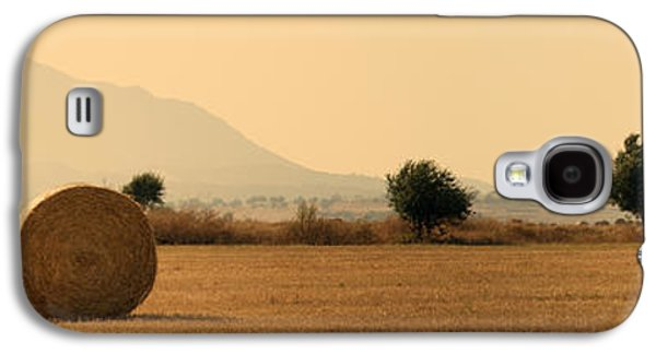 Crops Galaxy S4 Cases - Hay Rolls  Galaxy S4 Case by Stylianos Kleanthous