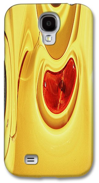 Abstract Digital Photographs Galaxy S4 Cases - Headlights 2 Galaxy S4 Case by Skip Nall