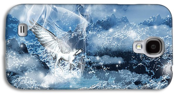Extinct And Mythical Digital Art Galaxy S4 Cases - Heavenly Interlude Galaxy S4 Case by Lourry Legarde