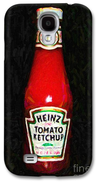 Wing Tong Galaxy S4 Cases - Heinz Tomato Ketchup Galaxy S4 Case by Wingsdomain Art and Photography