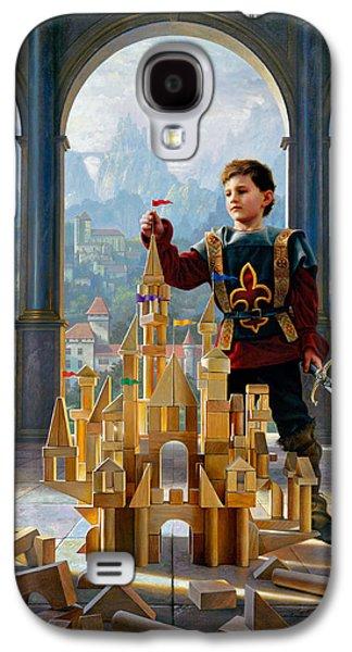 Armor Galaxy S4 Cases - Heir to the Kingdom Galaxy S4 Case by Greg Olsen
