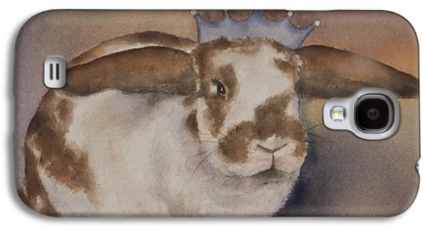 Wildlife Celebration Paintings Galaxy S4 Cases - Helicop Lop Rabbit  Galaxy S4 Case by Teresa Silvestri
