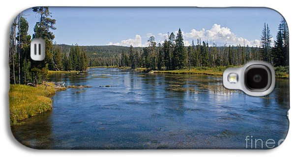 River Flooding Galaxy S4 Cases - Henry Fork Of The Snake River Galaxy S4 Case by Robert Bales