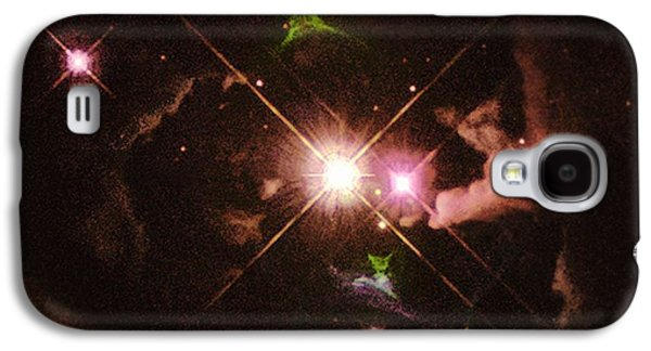 Jet Star Galaxy S4 Cases - Herbig-haro 32 Galaxy S4 Case by Space Telescope Science Institute / NASA