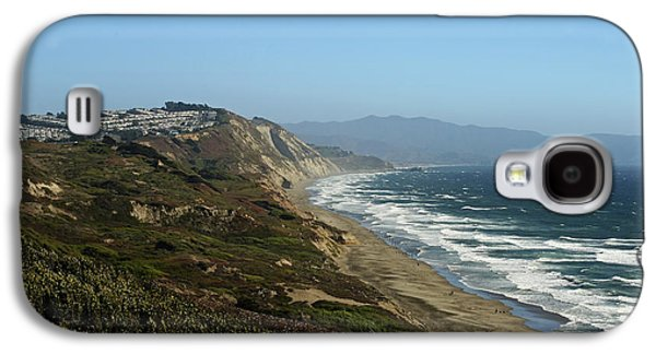 Beach Landscape Galaxy S4 Cases - Here Comes the Houses Galaxy S4 Case by Phill  Doherty