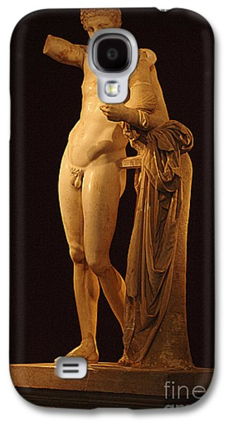 Greek Sculpture Galaxy S4 Cases - Hermes And The Infant Galaxy S4 Case by Bob Christopher