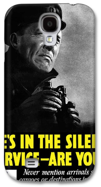 Loose Galaxy S4 Cases - Hes In The Silent Service Galaxy S4 Case by War Is Hell Store