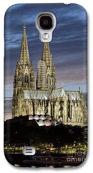 Landmarks Photographs Galaxy S4 Cases - High Cathedral of Sts. Peter and Mary in Cologne Galaxy S4 Case by Heiko Koehrer-Wagner