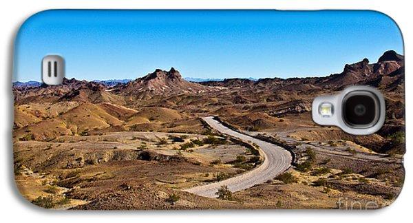 Haybale Galaxy S4 Cases - High Desert Galaxy S4 Case by Robert Bales