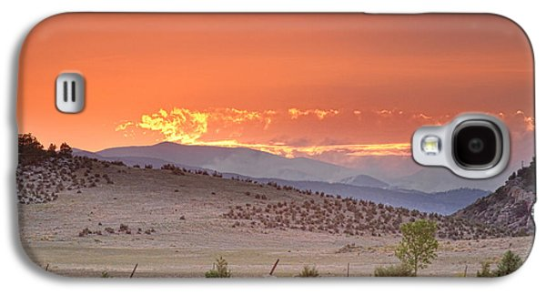 Fort Collins Galaxy S4 Cases - High Park Wildfire at Sunset Galaxy S4 Case by James BO  Insogna