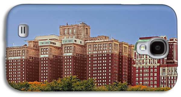 Historic Home Galaxy S4 Cases - Hilton Chicago and Blackstone Hotel Galaxy S4 Case by Christine Till