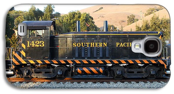 Old Caboose Galaxy S4 Cases - Historic Niles Trains in California . Old Southern Pacific Locomotive . 7D10867 Galaxy S4 Case by Wingsdomain Art and Photography