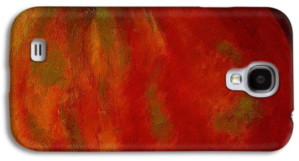 Still Life Pastels Galaxy S4 Cases - Honeycrisp Galaxy S4 Case by David Patterson