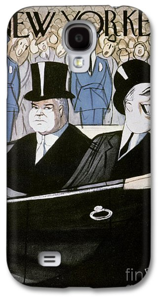 Inauguration Galaxy S4 Cases - Hoover & F.d. Roosevelt Galaxy S4 Case by Granger