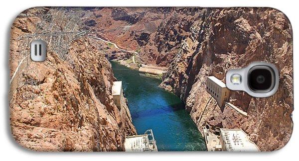 Hoover Dam Bridge Galaxy S4 Case by Mike McGlothlen