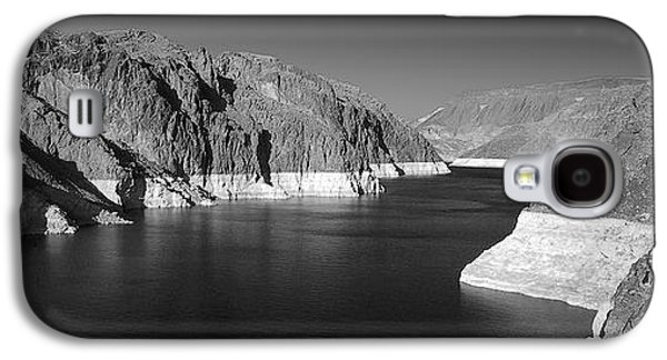 Waterscape Galaxy S4 Cases - Hoover Dam Reservoir - Architecture on a grand scale Galaxy S4 Case by Christine Till