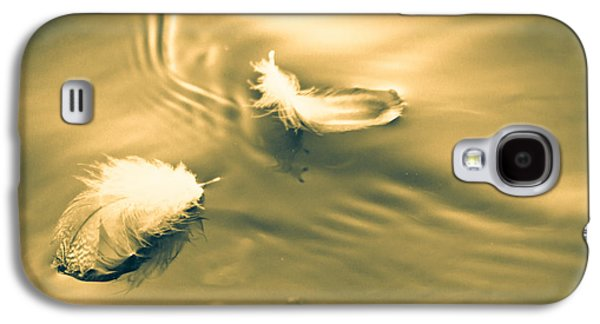 Dreamscape Galaxy S4 Cases - Hope is the thing with feathers Galaxy S4 Case by Bob Orsillo