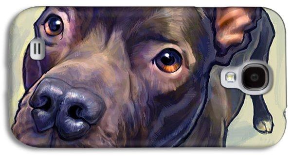 Portraits Digital Art Galaxy S4 Cases - Hope Galaxy S4 Case by Sean ODaniels