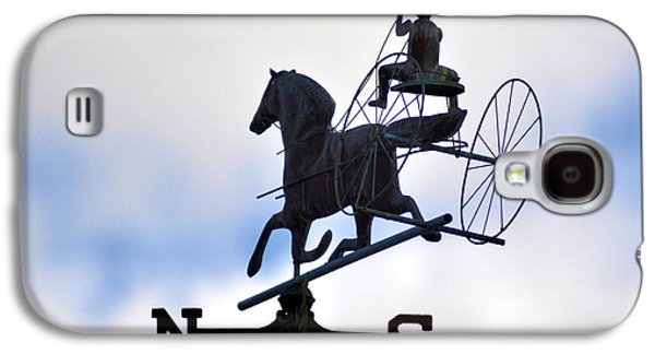 Horse And Buggy Galaxy S4 Cases - Horse and Buggy Weather Vane Galaxy S4 Case by Bill Cannon