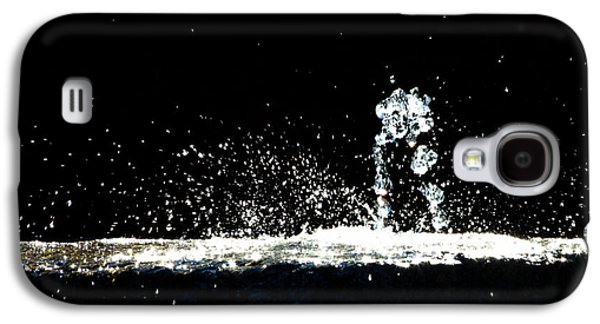 Dreamscape Galaxy S4 Cases - Horses and Men In Rain Galaxy S4 Case by Bob Orsillo