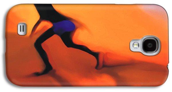 Beaches Galaxy S4 Cases - Hot Sands Galaxy S4 Case by Bob Salo