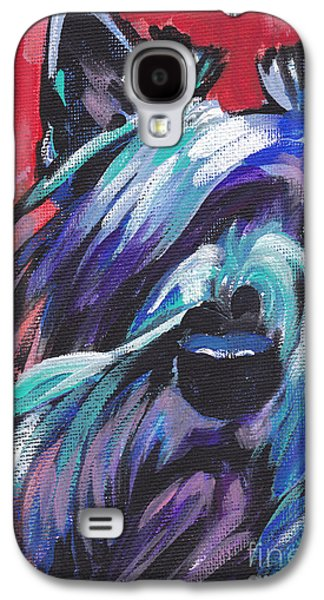 Scottish Dog Galaxy S4 Cases - Hot Scot Galaxy S4 Case by Lea