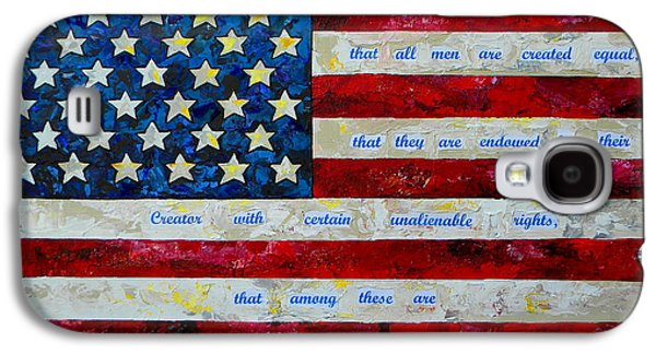 4th July Paintings Galaxy S4 Cases - I believe Galaxy S4 Case by Patti Schermerhorn
