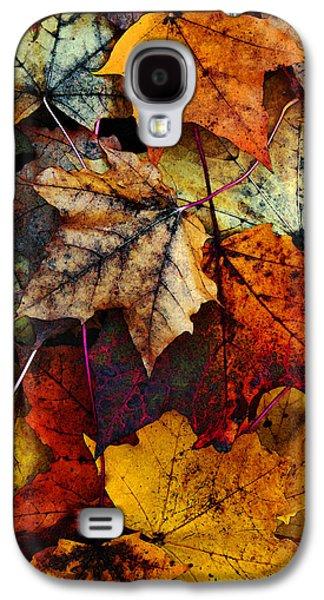 Card Digital Art Galaxy S4 Cases - I Love Fall 2 Galaxy S4 Case by Joanne Coyle