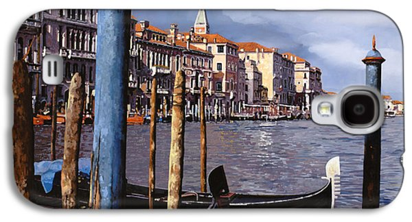Borelli Galaxy S4 Cases - I Pali Blu Galaxy S4 Case by Guido Borelli