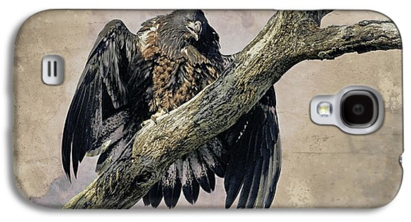 Eagle Mixed Media Galaxy S4 Cases - I Want Food Galaxy S4 Case by Deborah Benoit