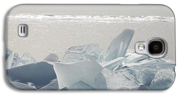 Design Pics - Galaxy S4 Cases - Ice Chunks On The Shores Of Lake Galaxy S4 Case by Susan Dykstra