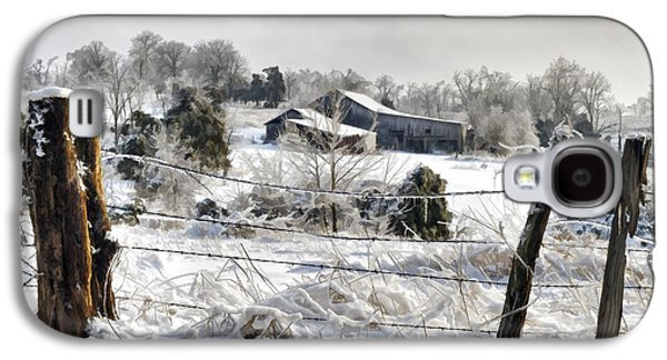 Indiana Winters Galaxy S4 Cases - Ice Storm - D004825a Galaxy S4 Case by Daniel Dempster