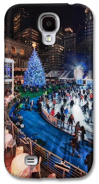 Bryant Park Galaxy S4 Cases - If I Could Make December Stay Galaxy S4 Case by Evelina Kremsdorf
