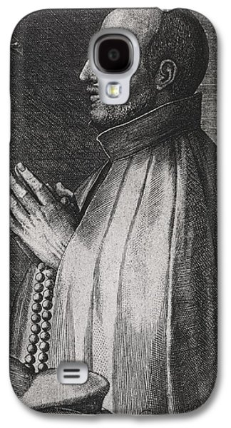 Seventeenth Century Galaxy S4 Cases - Ignatius Of Loyola, Spanish Saint Galaxy S4 Case by Middle Temple Library