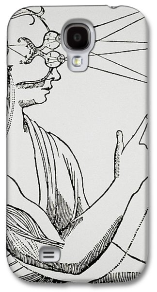Historical Images Galaxy S4 Cases - Illustration From De Homine By Rene Descartes Galaxy S4 Case by Dr Jeremy Burgess.