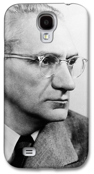 1950s Portraits Galaxy S4 Cases - Immanuel Velikovsky Galaxy S4 Case by Granger
