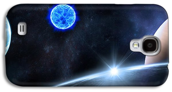 Abstract Landscape Galaxy S4 Cases - in Space Galaxy S4 Case by Svetlana Sewell