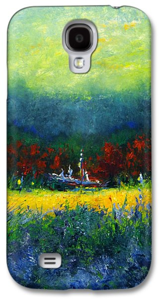Independence Day Paintings Galaxy S4 Cases - Independence Day Galaxy S4 Case by Shannon Grissom