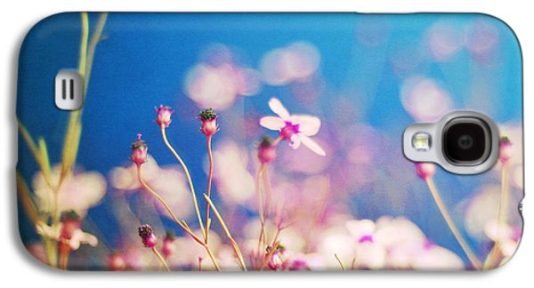 Photography Prints Galaxy S4 Cases - Infatuation in Blue  Galaxy S4 Case by Amy Tyler