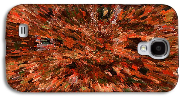 Abstract Digital Photographs Galaxy S4 Cases - Influence of Innovation Galaxy S4 Case by Carol Groenen